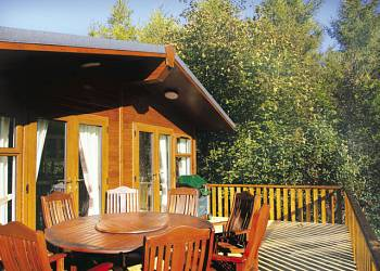 Longnor Wood Holiday Lodges in Derbyshire