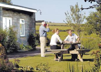 Dean Steep Holiday Lodges in Devon