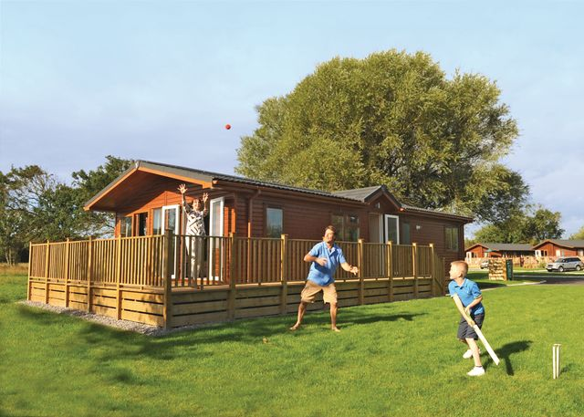 Sandy Glade Holiday Park Holiday Lodges in Somerset